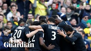 Emiliano Sala: Nantes players wear black shirts in tribute to teammate