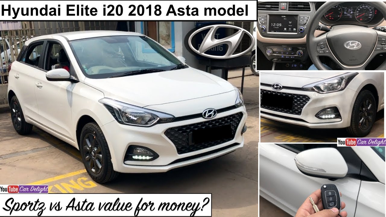 Elite I20 2018 Asta Model Interior Exterior Features Review New
