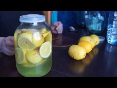 Наливка на лимоне дома  Спиртовая настойка на лимоне  Самый лучший и простой рец