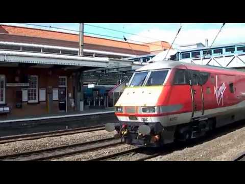 Trains at Welwyn Garden City, ECML | 05/04/17