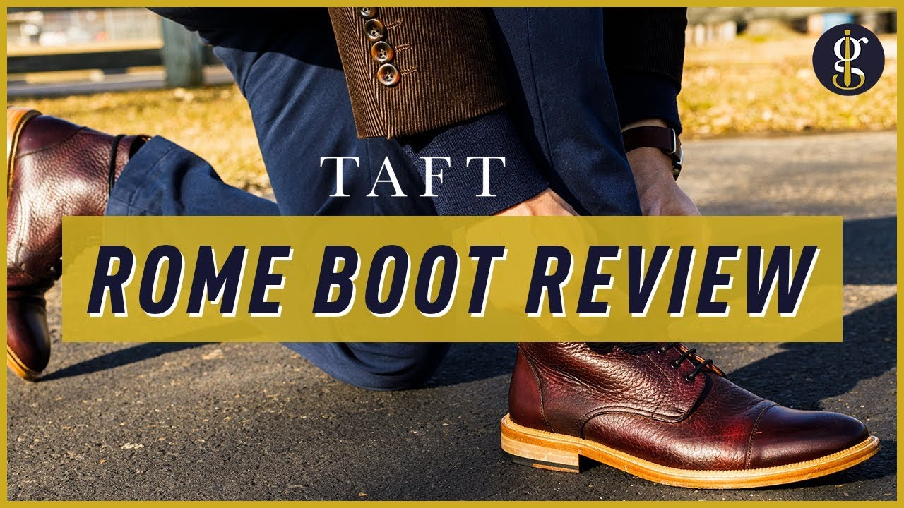 ea27ee1c6fc Taft Rome Boot Review (Are They As Good As They Look?)