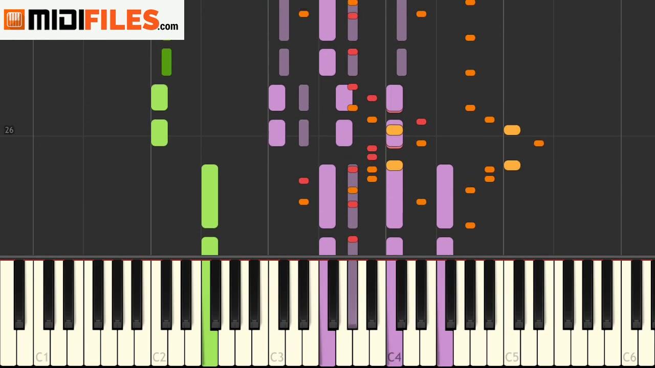 🎼 SOS - Avicii & Aloe Blacc (PRO  KARAOKE MIDI FILE)