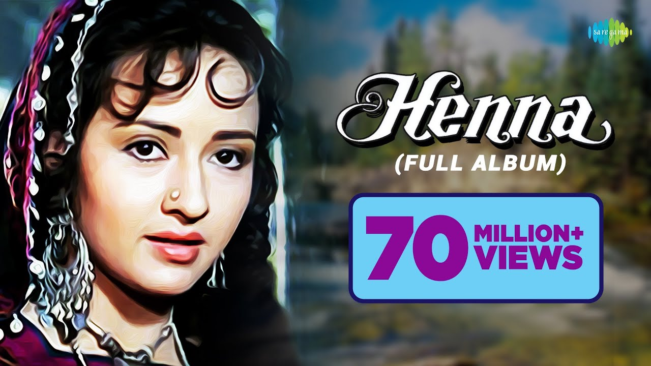 Henna Movie Songs  Main Hoon Khushrang Henna  Audio