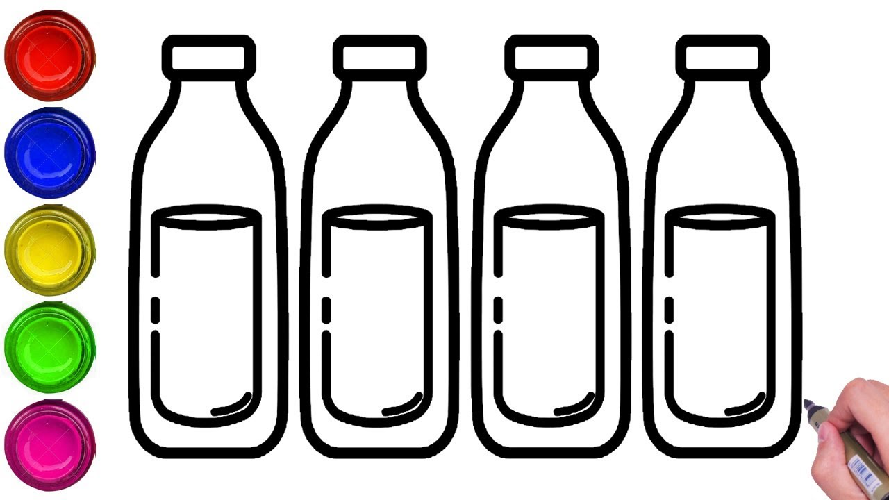 How To Draw Water Bottle Step By Step Easy Water Bottle Drawing Bottle Drawing Easy Step By Step Youtube