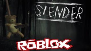 Suicide Teddybeer- Slenderman {Roblox}