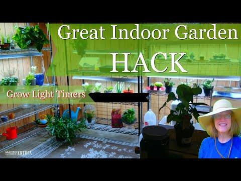Best Indoor Gardening Hack - Grow Light Timers | The
