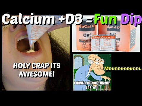 UpCal D Powder Calcium +D3 Review = Bariatric Fun Dip! Two Thumbs Way UP!