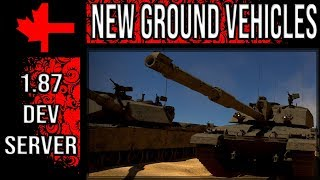 War Thunder Dev Server - Update 1.87 - New Ground Vehicles