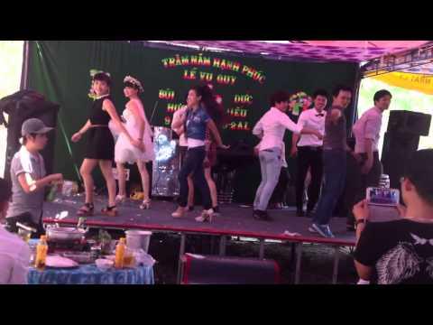 Cô Dâu Chú Rể nhảy samba cực chất ở bình phước