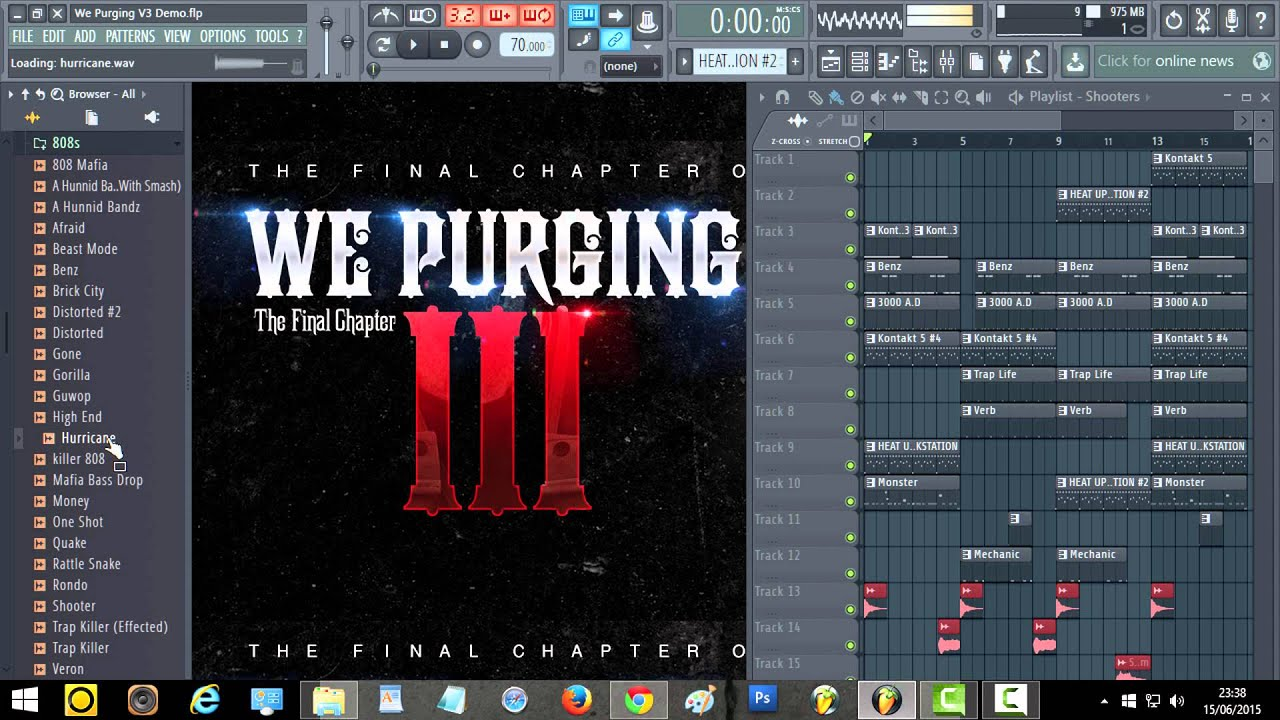 WE PURGING 3 FINAL CHAPTER - DRUM KIT Producer Bundle - Drumkits Loops  Nexus Soundpacks Construction Kits for Music Production