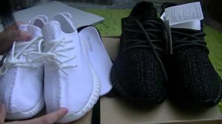 c70740d6 Comparison&Final Version Kanye West Unauthorized Authentic Adidas Yeezy  Boost 350 by Lily Wang