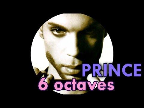 PRINCE: A 6 OCTAVE RANGE SINGER ?