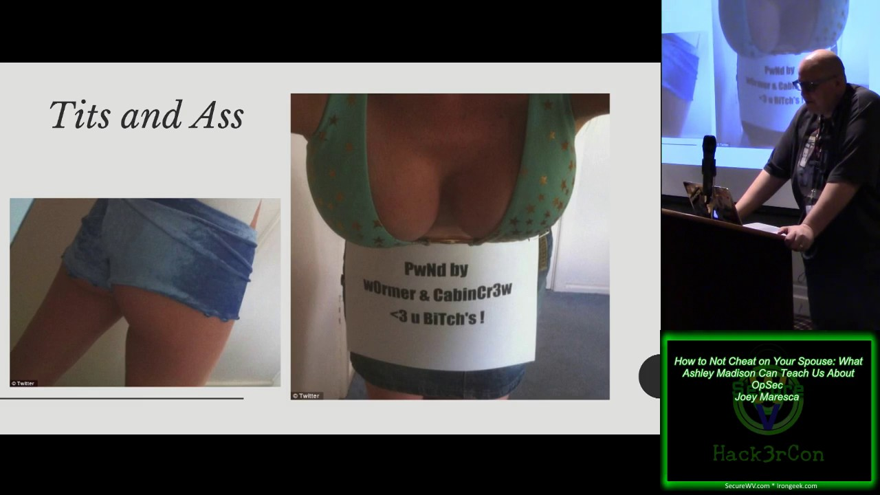 110 How to Not Cheat on Your Spouse What Ashley Madison Can Teach Us About  OpSec Joey Maresca