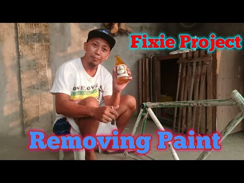 Fixie Project ( Removing paint)