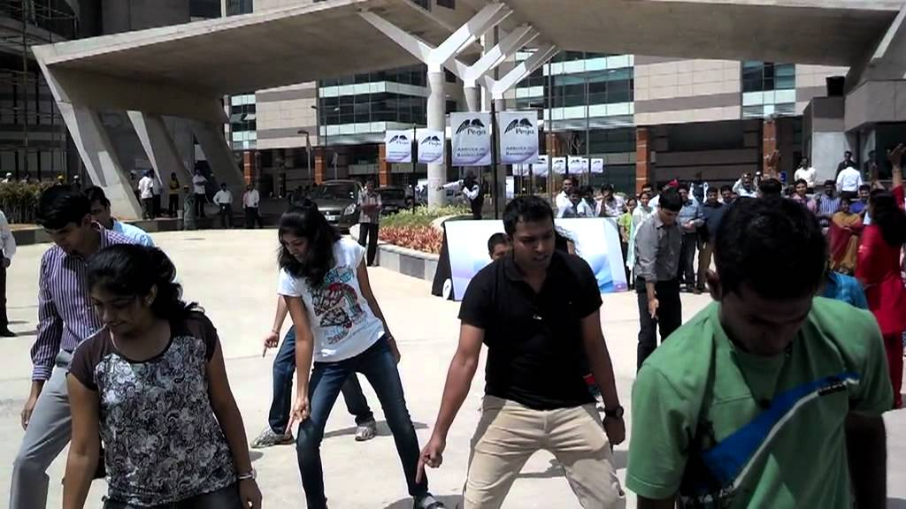 flash mob pega systems bangaloreavi youtube
