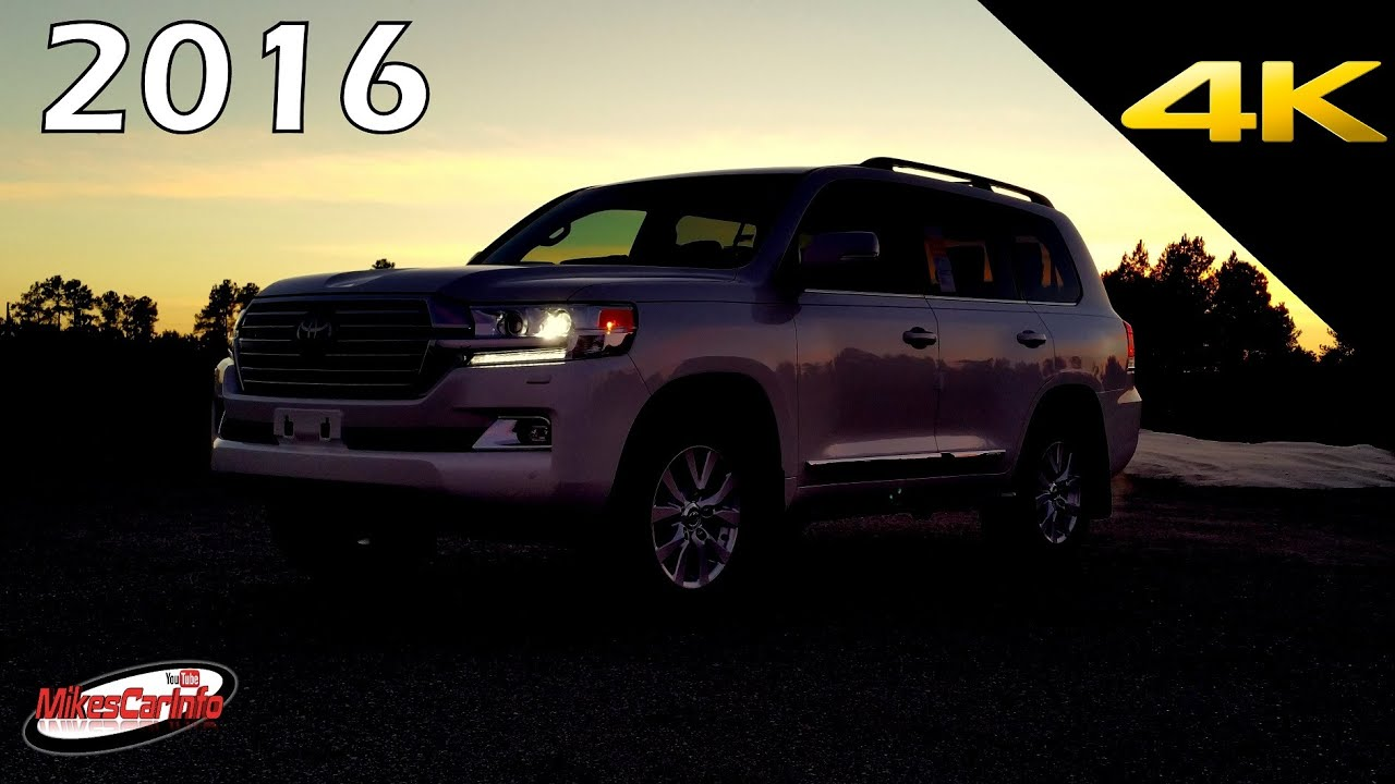 At Night 2016 Toyota Land Cruiser Interior And Exterior In 4k Youtube