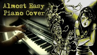 Avenged Sevenfold - Almost Easy - Piano Cover