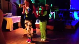 Dance group to Rita Ora( Hot right now) and Rhianna (Diamon