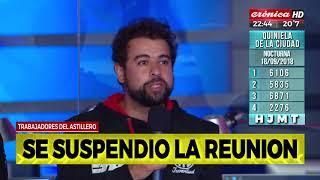 Trabajadores del Astillero Río Santiago en Solo Periodismo