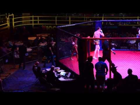 """Eric """"Showtime"""" Shelton vs """"Riptide"""" Ryan Hollis 2/1/2016  Full Fight"""