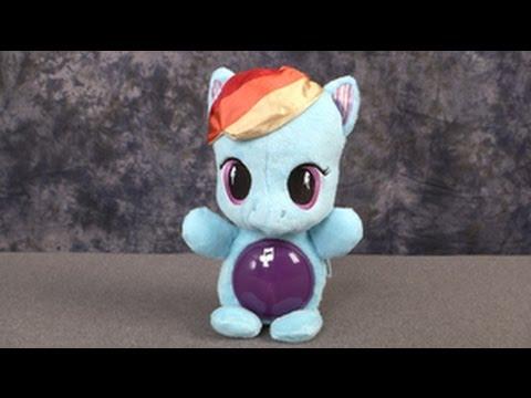 My Little Pony Rainbow Dash Glow Pony From Hasbro