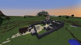 Minecraft Build Showcase- Military Base
