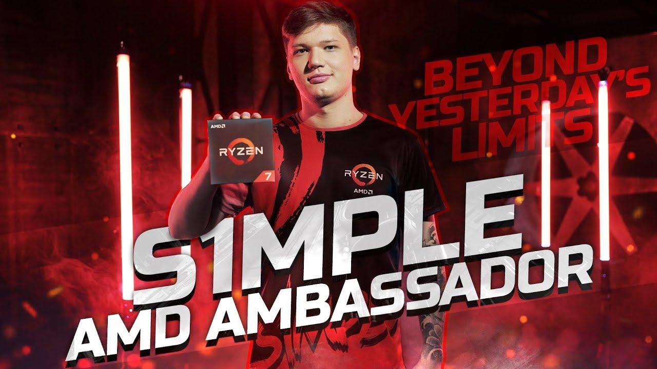 Natus Vincere - s1mple becomes an AMD brand ambassador