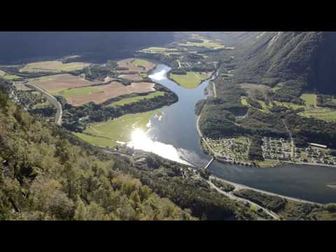 Panoramic view @ Romsdalstrappa, Åndalsnes Norway