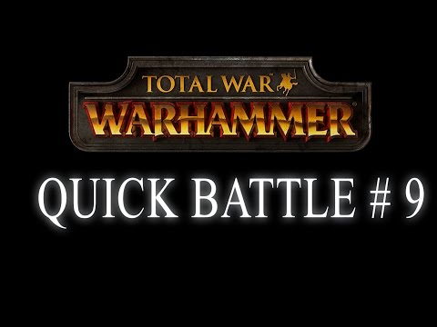 HOW TO DEFEAT CORNER CAMPERS - QUICK BATTLE - Total War: Warhammer #9
