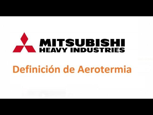 Conceptos básicos de Aerotermia