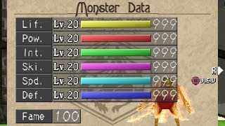 Monster Rancher 2: Training Phoenix to Max Stats