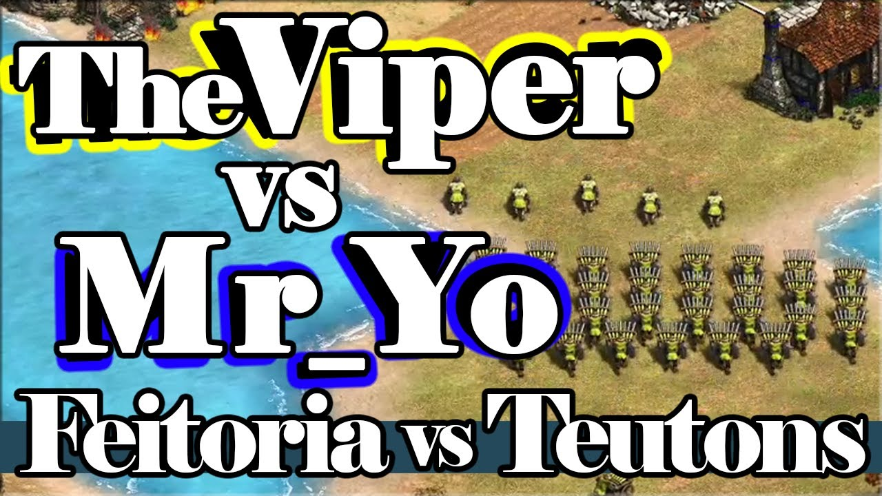 Feitorias vs Teutons! TheViper vs Yo