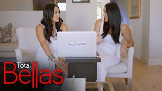 Nikki talks to Brie about her ongoing issues with their brother: Total Bellas, Nov. 19, 2020