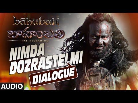 Nimda Dozrastelmi Dialogue || Baahubali (Telugu) || Prabhas, Rana, Anushka, Tamannaah
