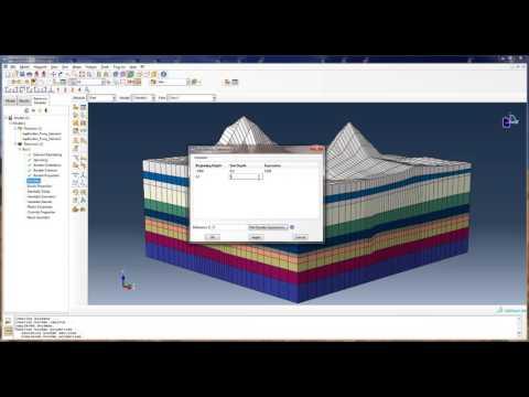 SIMULIA Abaqus Reservoir Modeler Demo Video