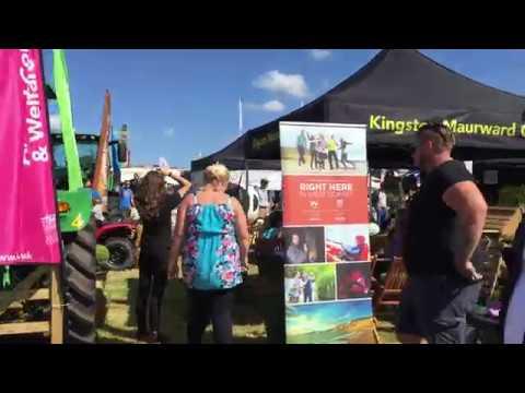 Dorset County Show 2017 - The Kingston Maurward Stand