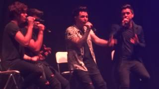 Union J - We Found Love Acapella - Sheffield Arena