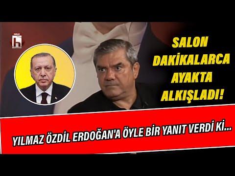 Yılmaz Özdil Erdoğan'a öyle bir yanıt verdi ki salon dakikalarca ayakta alkışladı!