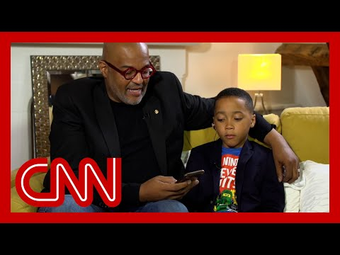 'He can be a little boy': Black father explains why he and son left the US