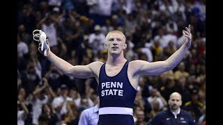 College Wrestling Highlights  quotMonsterquot
