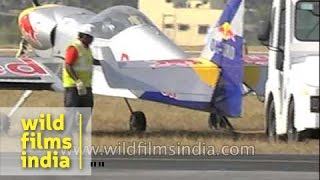 OK-XRC - The Flying Bulls at Bangalore Air Show, India