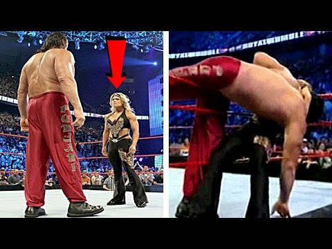 5 Most Embarrassing WWE Royal Rumble Eliminations