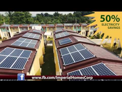 Imperial Homes Solar Powered Community Projects