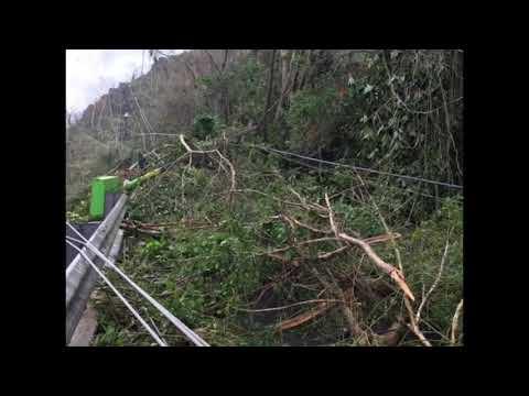 Huracán Maria, Comerio Puerto Rico