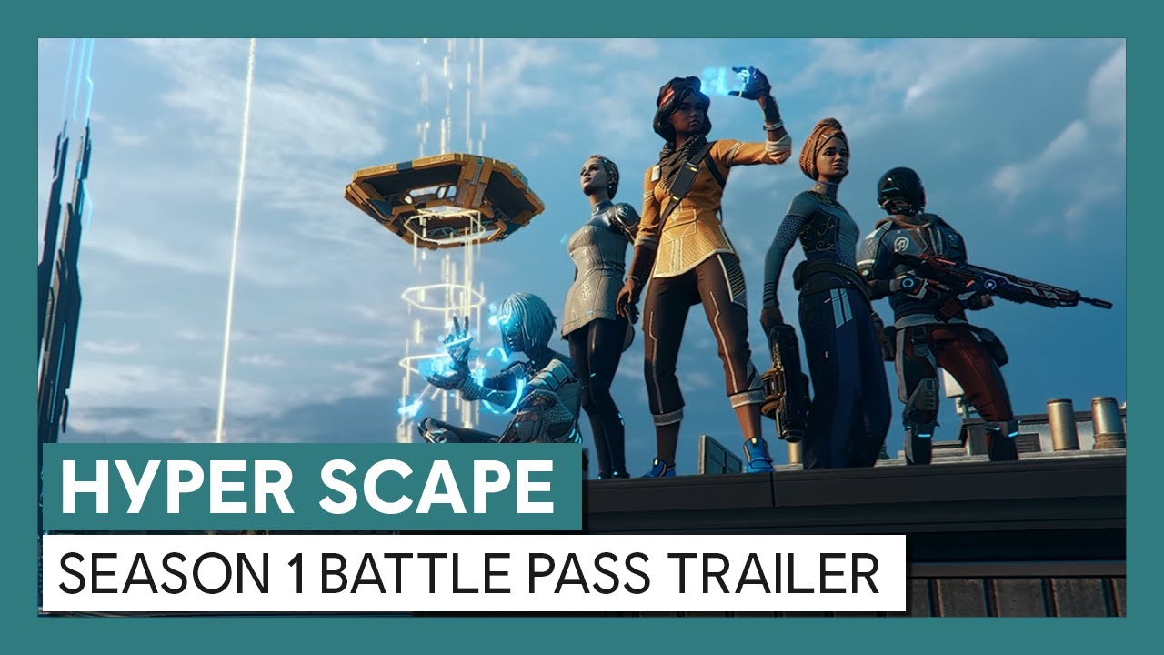 Hyper Scape: Season 1 Battle Pass Trailer