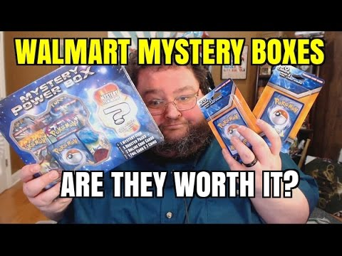 POKEMON MYSTERY BOXES FROM WALMART OR TARGET
