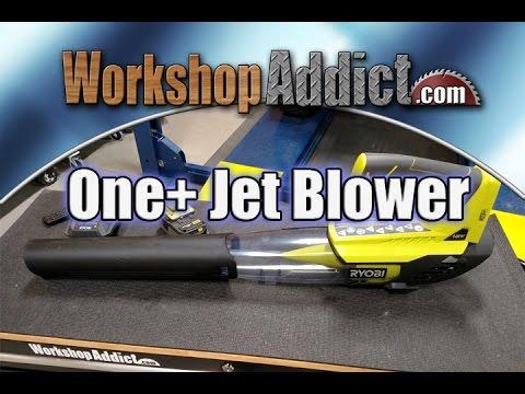 Ryobi ONE+ Lithium+ 18 Volt Lithium Ion Cordless Jet Fan