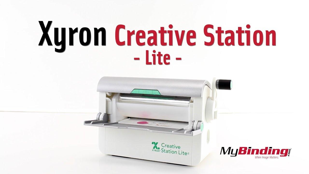 "Xyron Creative Station Lite 5/"" Machine White//Silver Add Adhesive//Magnet"