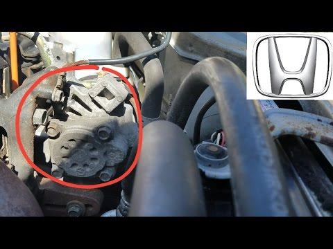 Honda Civic Power Steering Pump Replacement Youtube