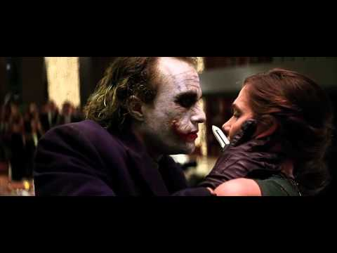The Dark Knight - Very Poor Choice Of Words HD